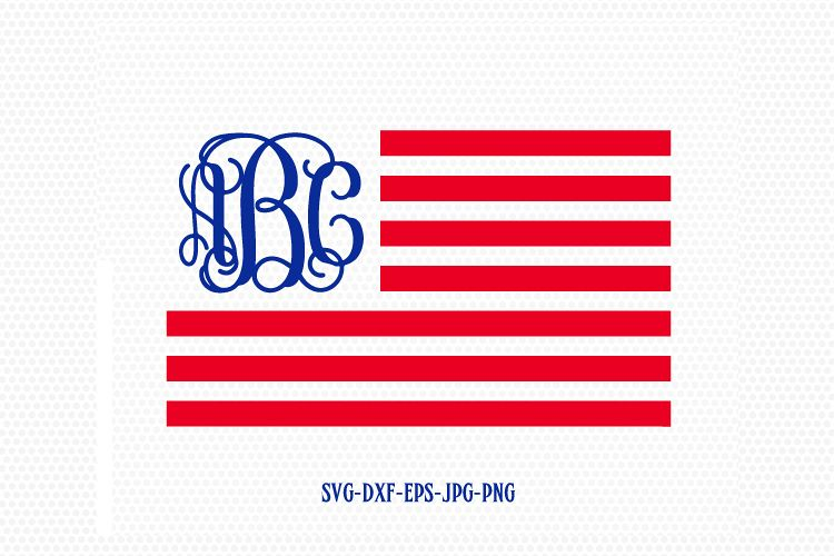 84c3fc306e8 Viewing Product. usa flag monogram svg