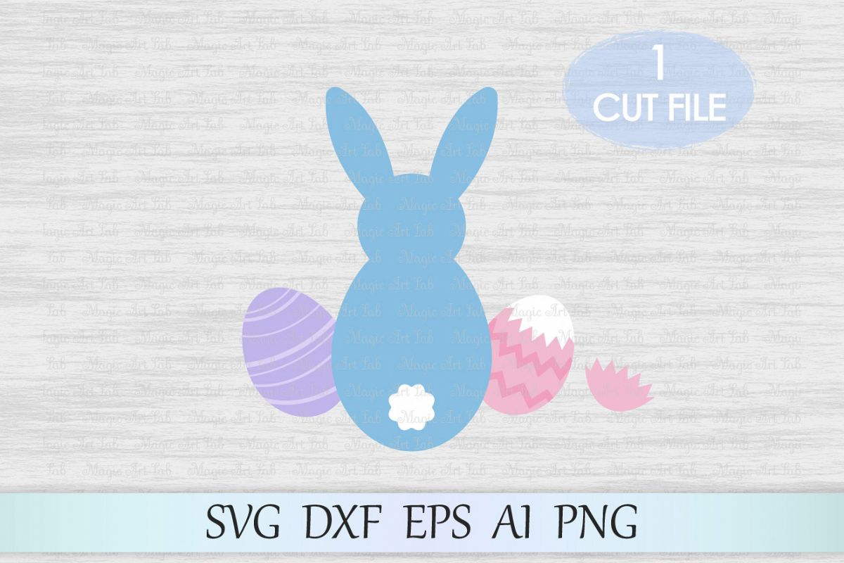 Bunny svg, Bunny clipart, Easter svg, Easter bunny svg, Easter clipart, Eggs svg, Rabbit ears Svg, Egg png, Bunny svg cricut, Digital file example image 1