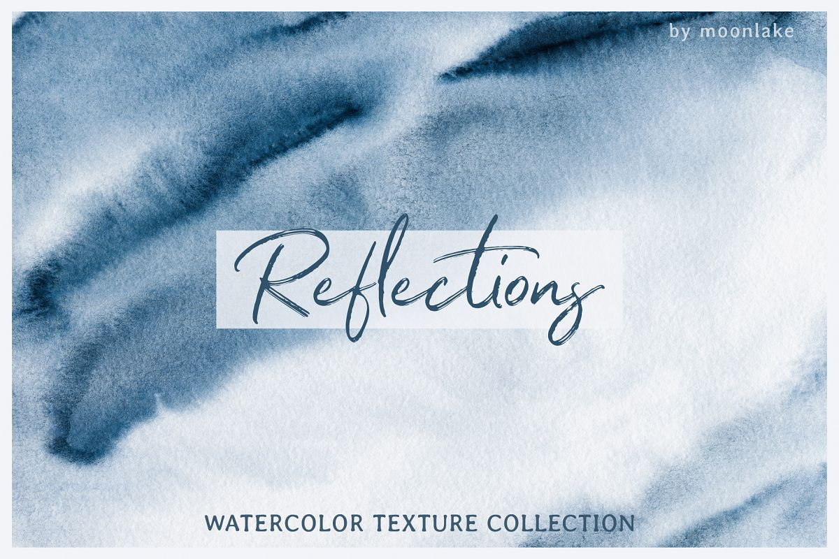 Watercolor Texture Collection example image 1