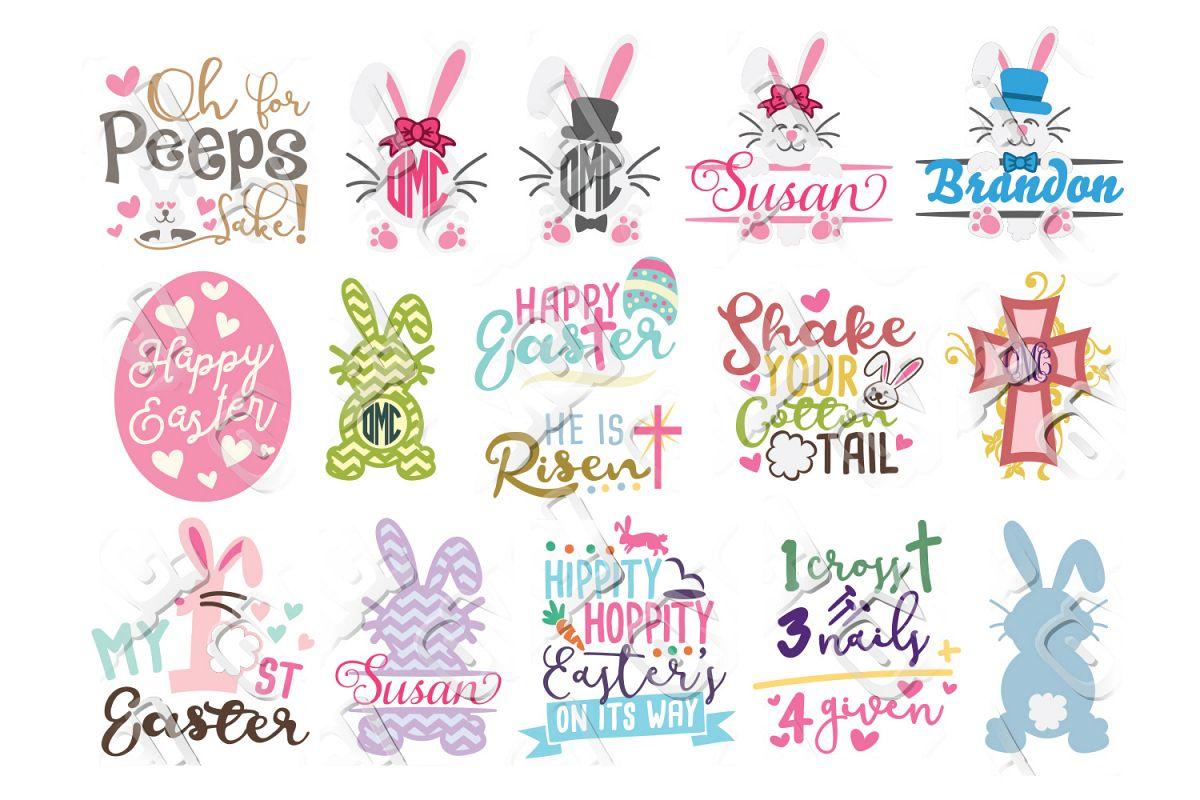 Easter SVG Bundle example image 1