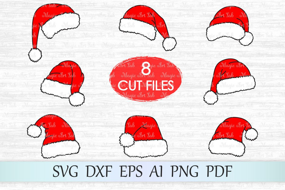 Christmas Clipart Santa.Santa Hat Svg Christmas Svg Santa Svg Christmas Clipart