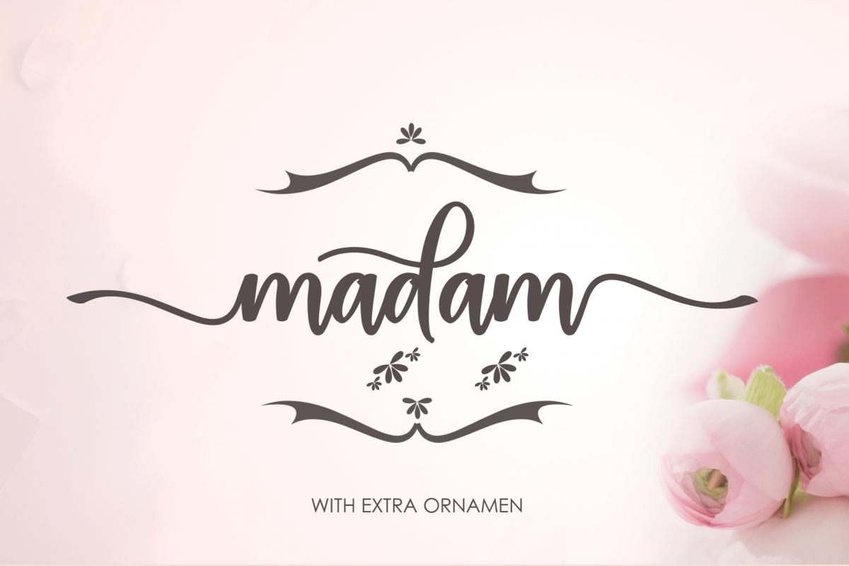 madam extra ornament example image 1
