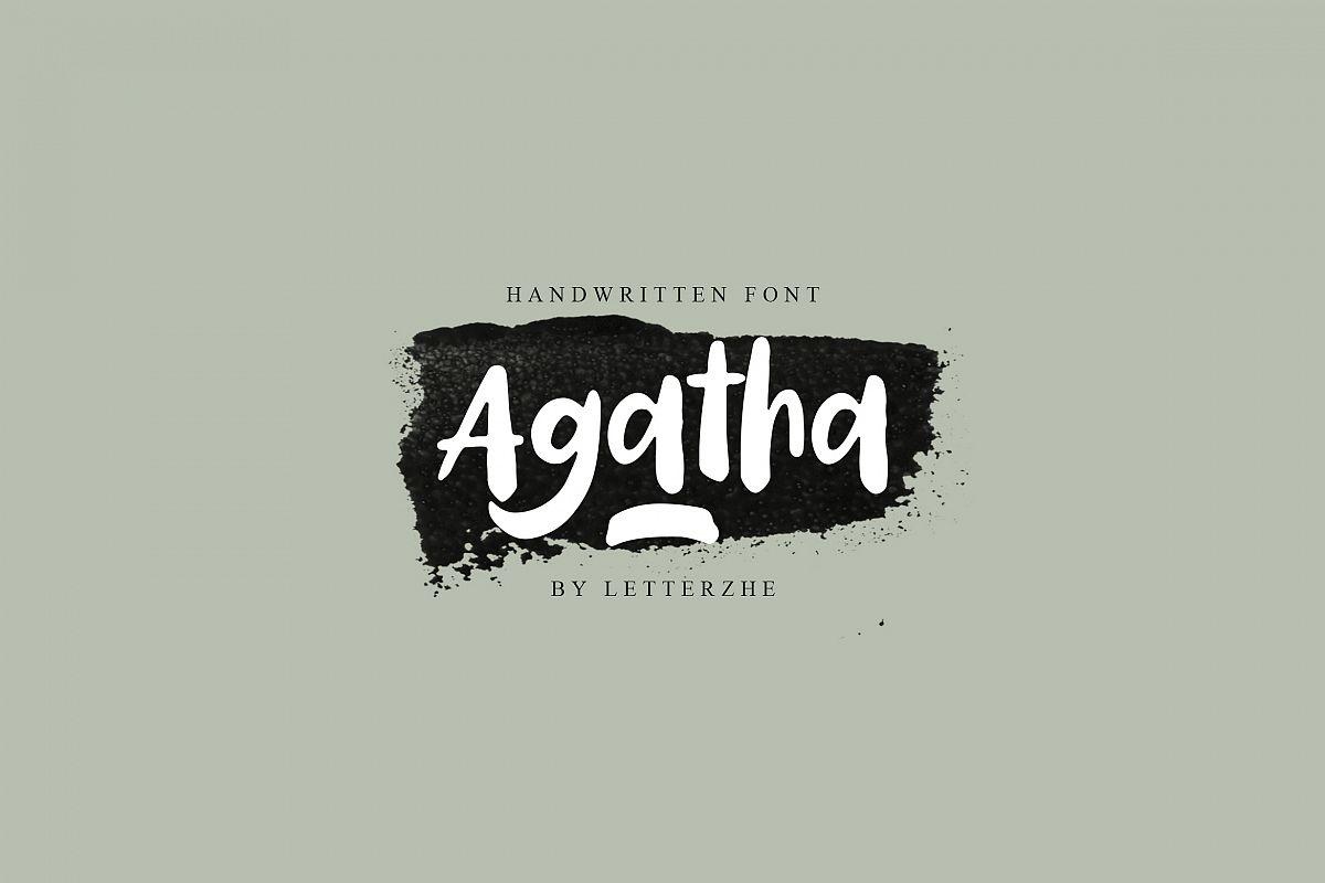 Agatha example image 1