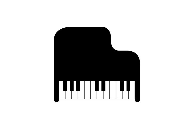 Piano icon example image 1