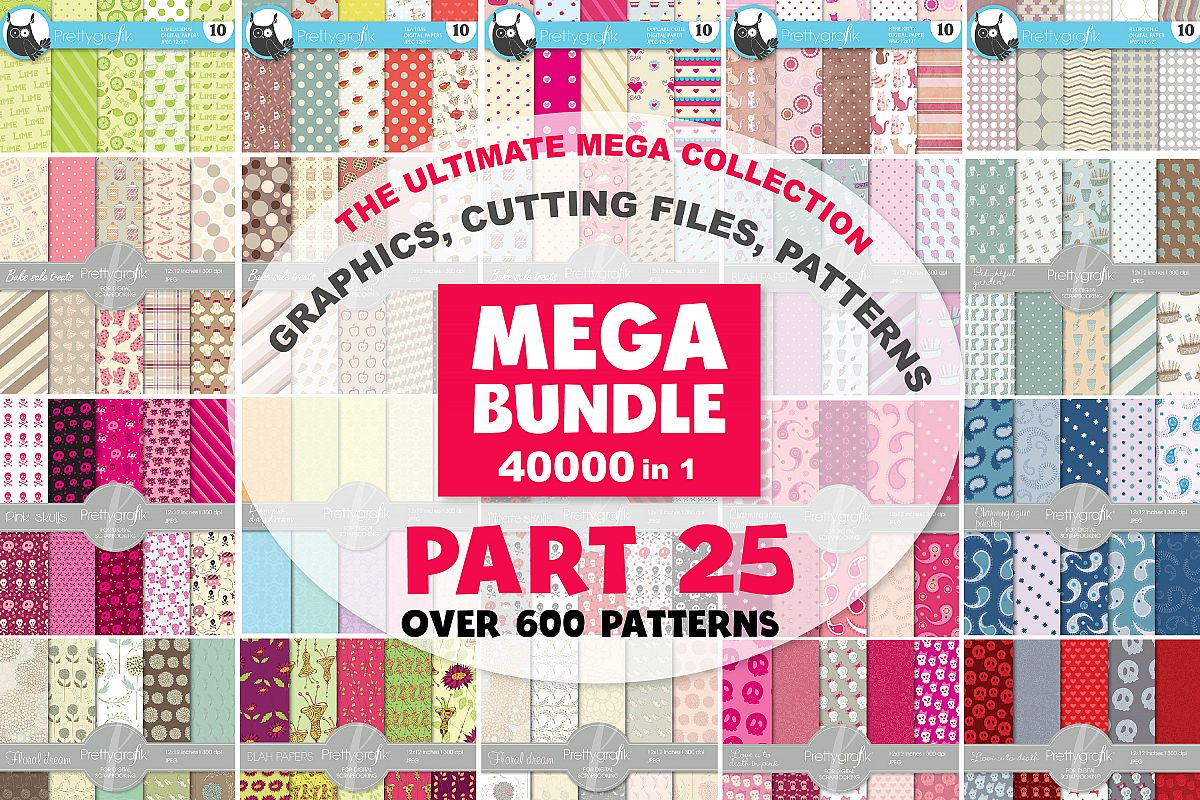 MEGA BUNDLE PART25 - 40000 in 1 Full Collection example image 1