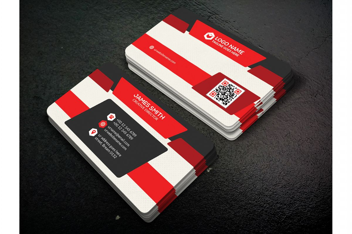 Corporate Business Card example image 1