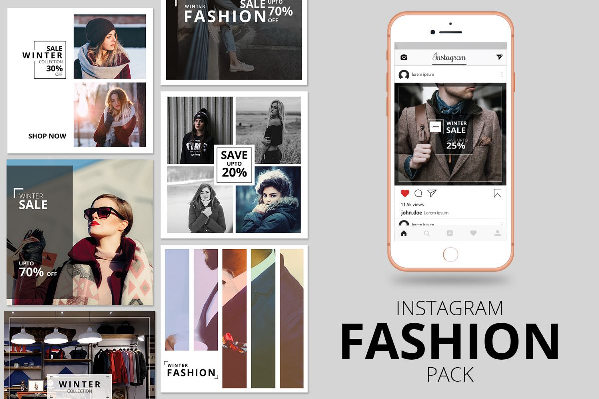 Fashion Instagram Banner Pack example image 1