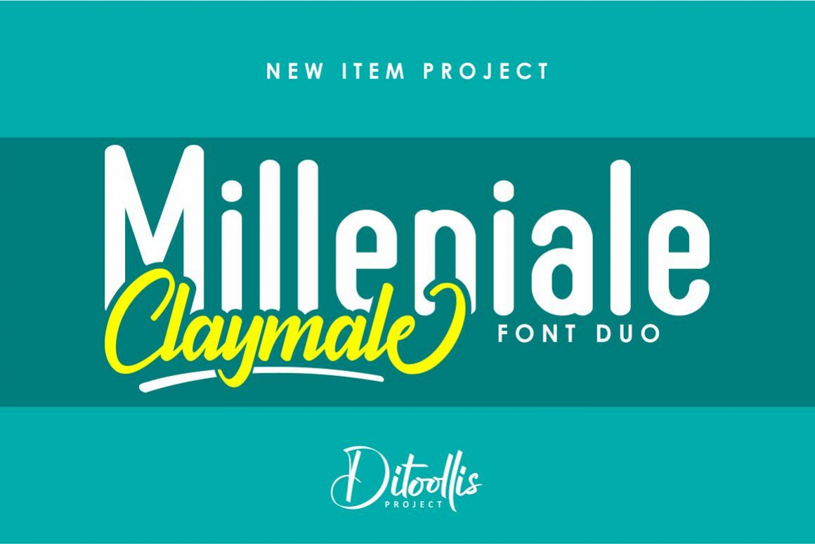 Milleniale Font Duo example image 1