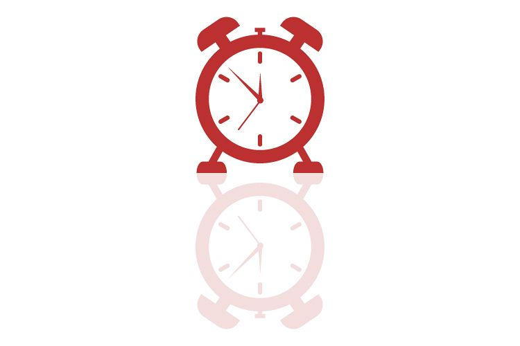 Alarm clock icon example image 1