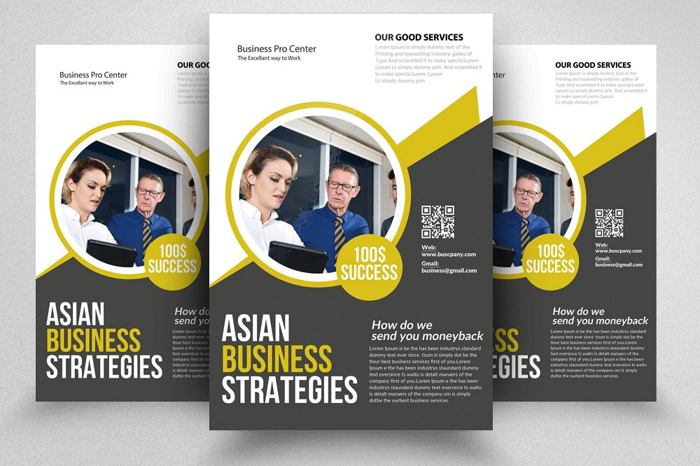 accounting bookkeeping services flyer templates example image 1