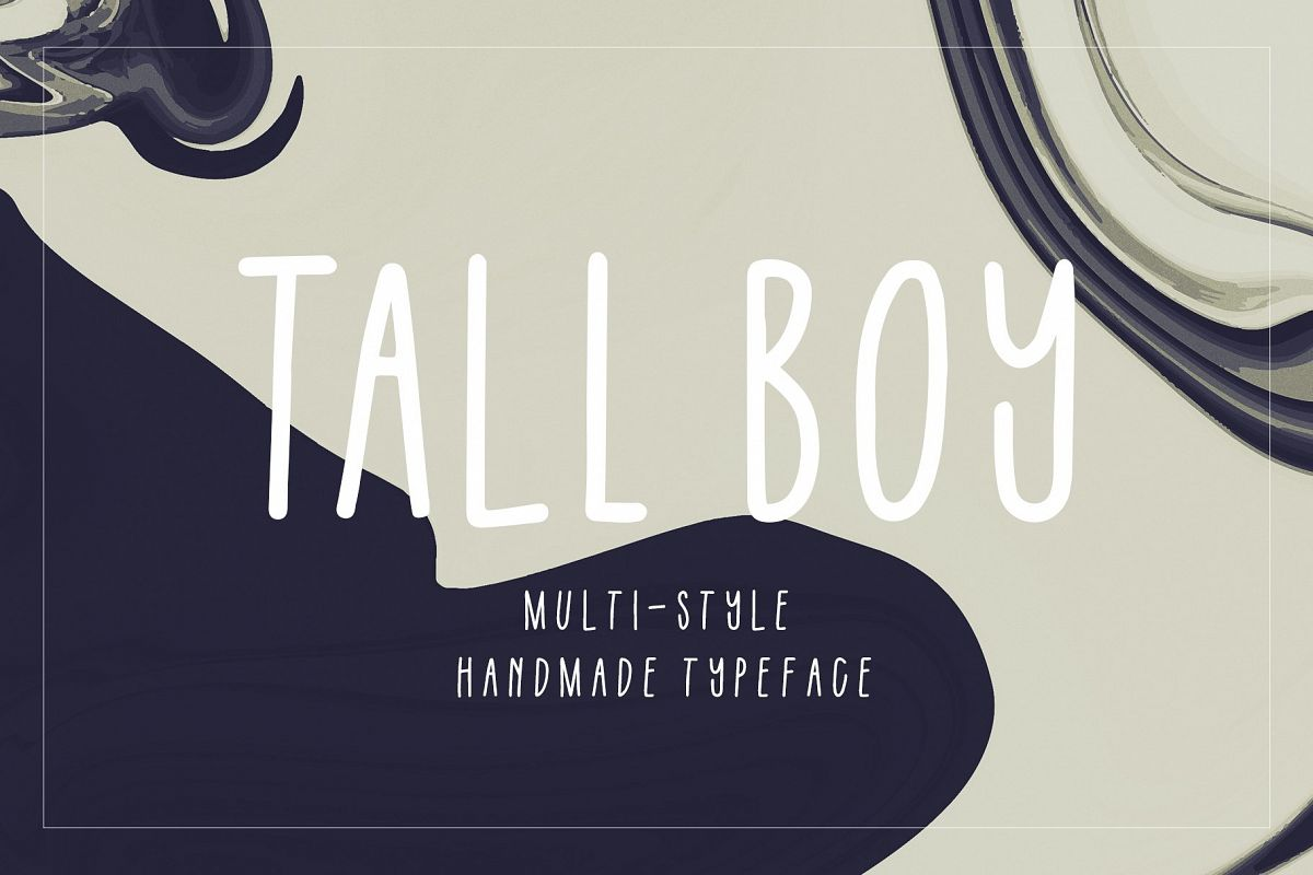 Tall Boy | Handwriting Font example image 1