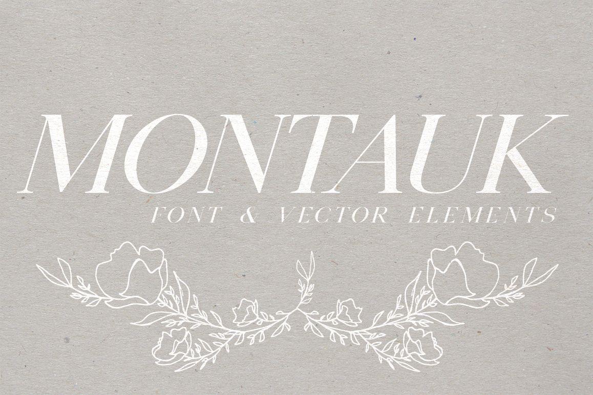 Montauk | Serif + Bonus Vectors example image 1