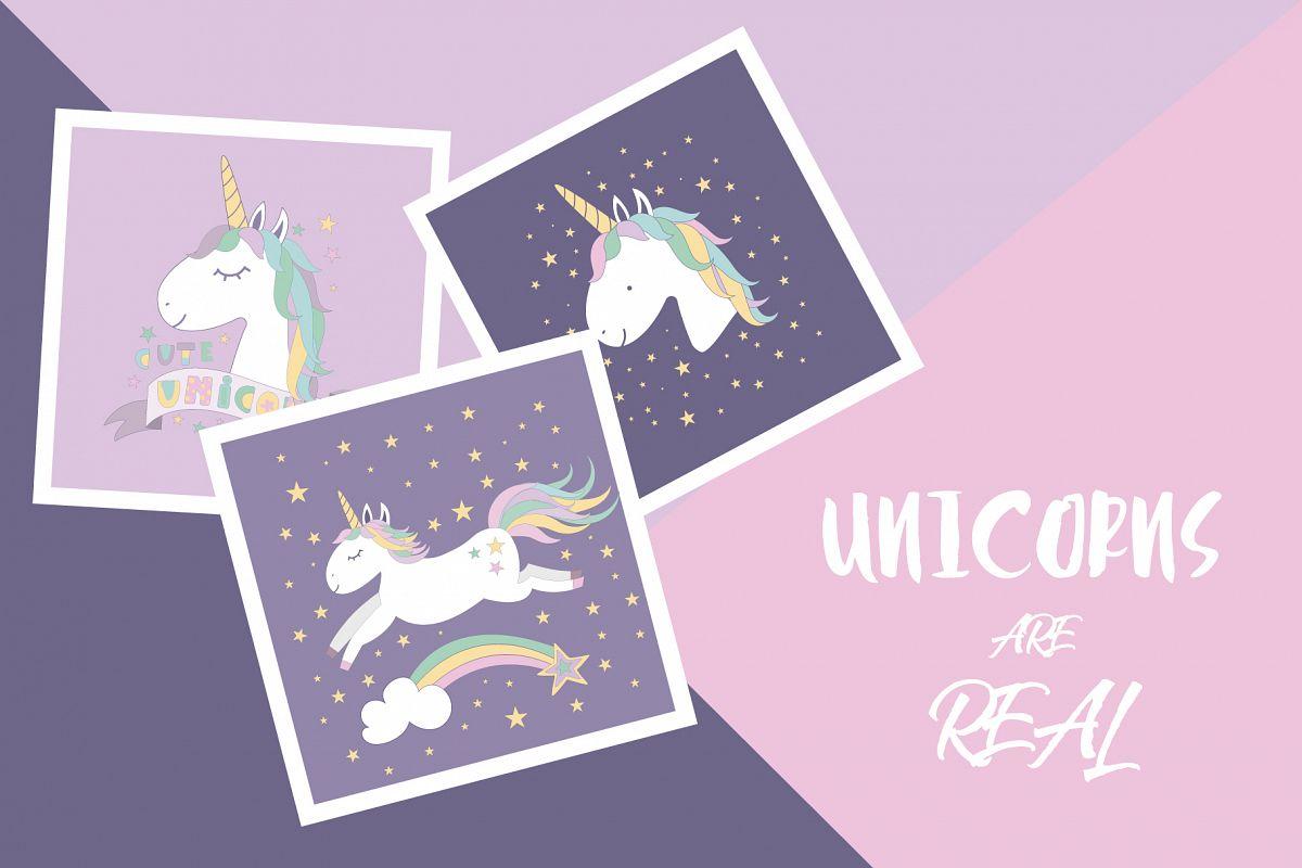 Unicorns are real set example image 1