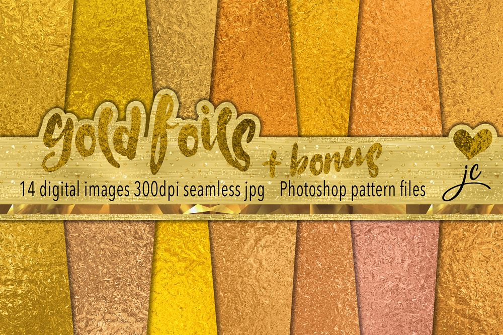 Gold Foils example image 1
