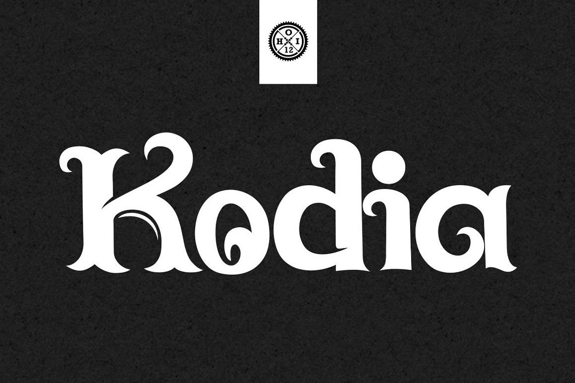 Kodia Font example image 1