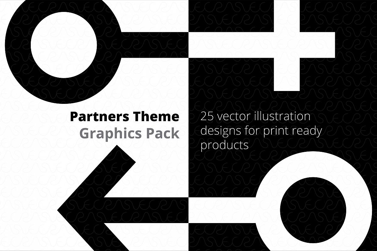 Partners / Couples Theme Graphics Pack example image 1