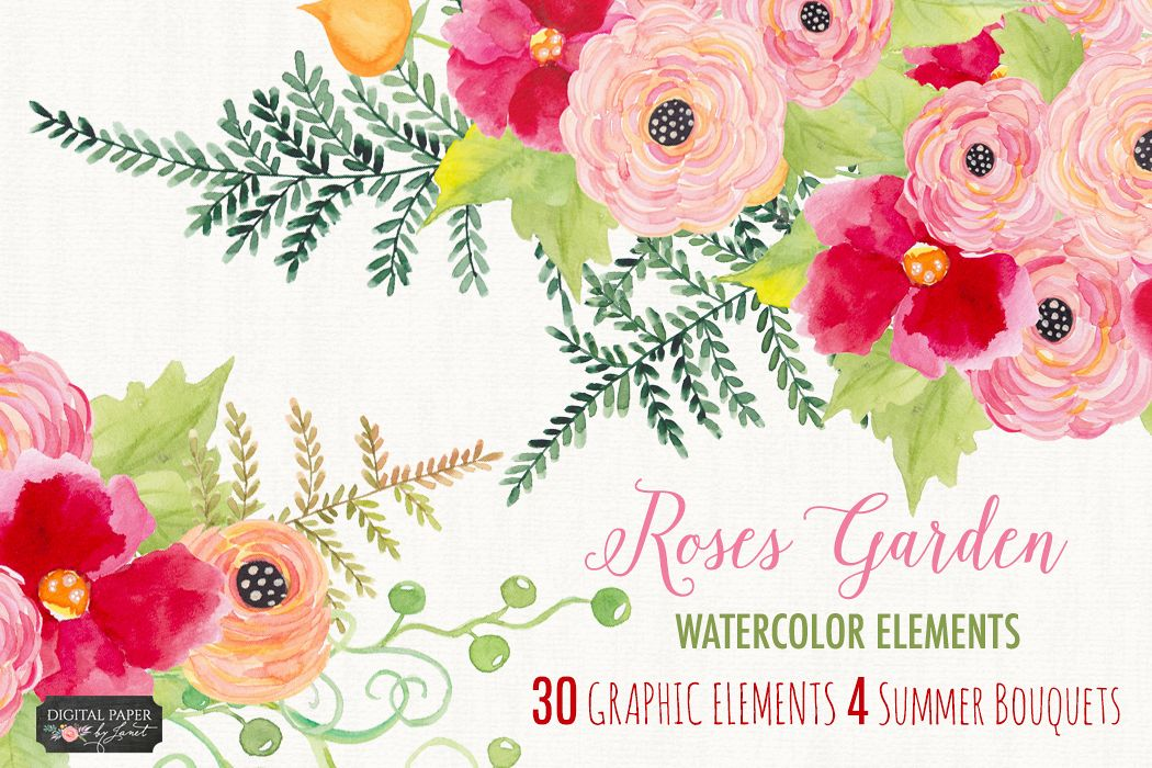 Roses Garden Collection example image 1