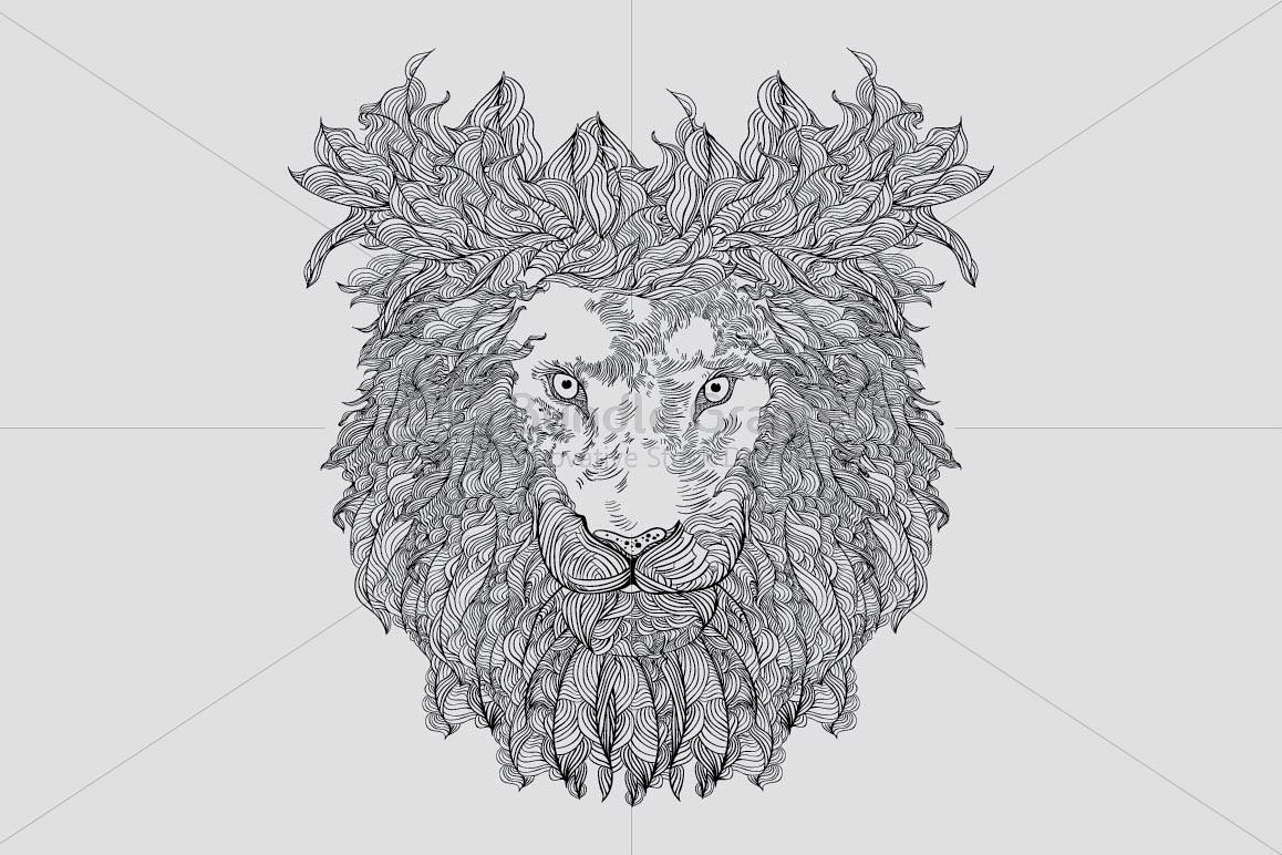 Lion - Wild Animal  example image 1