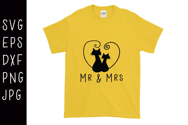 Mr And Mrs SVG example image 1