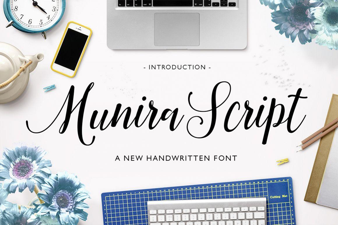 Munira Script example image 1