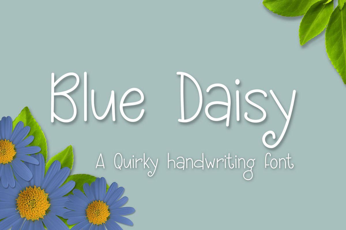 Blue Daisy example image 1