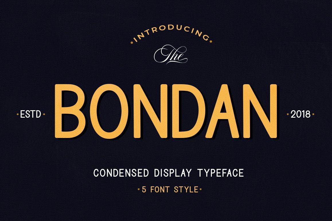 Bondan Typeface example image 1