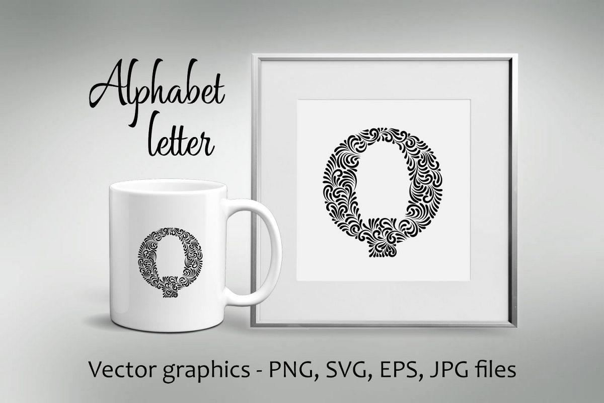 Alphabet Letter Q example image 1