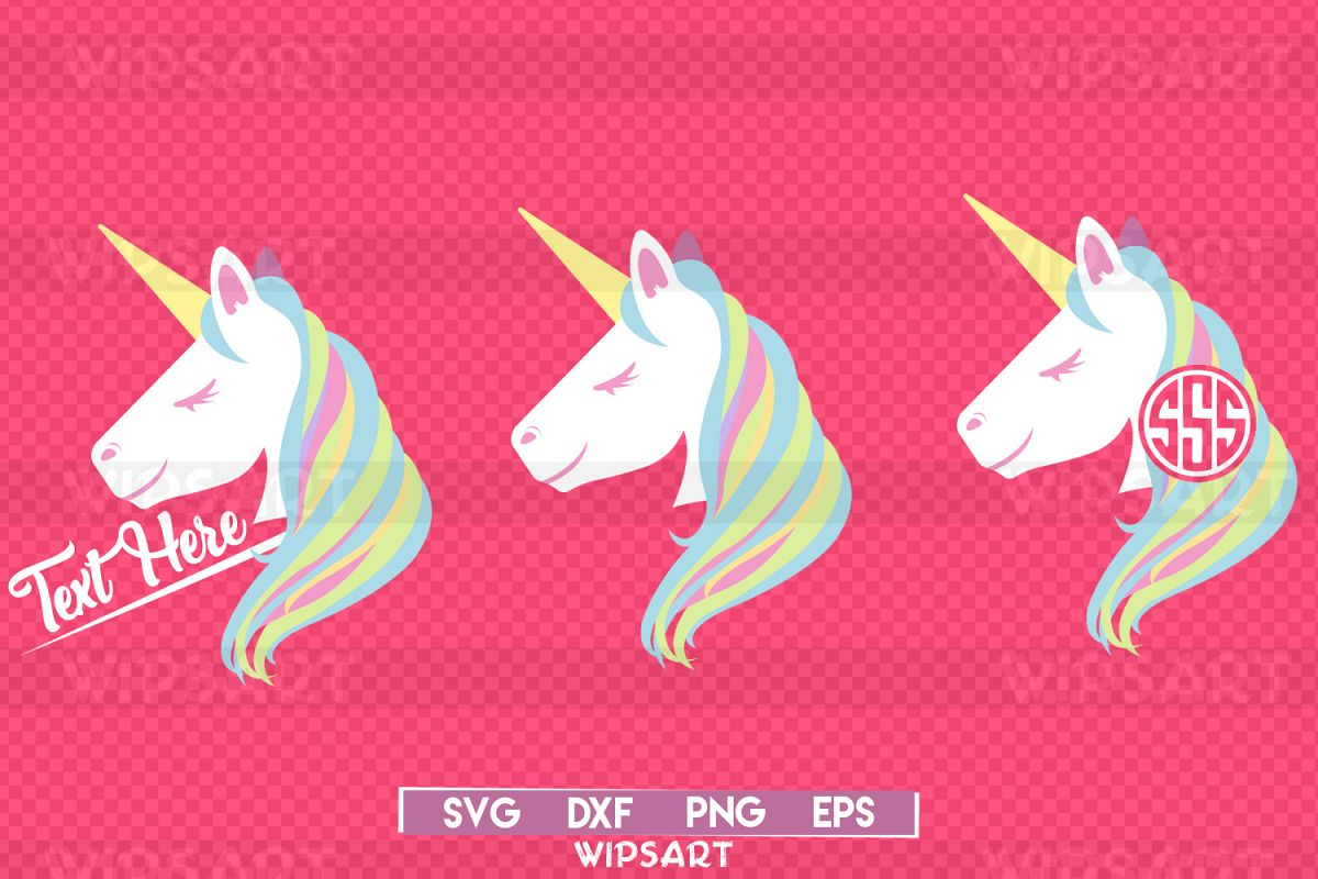 SALE! Unicorn svg,Unicorn party Svg, Unicorn face svg example image 1