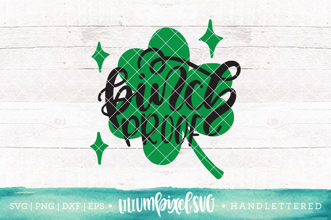 Shamrock - Pinch Proof  / SVG PNG DXF EPS file example image 1