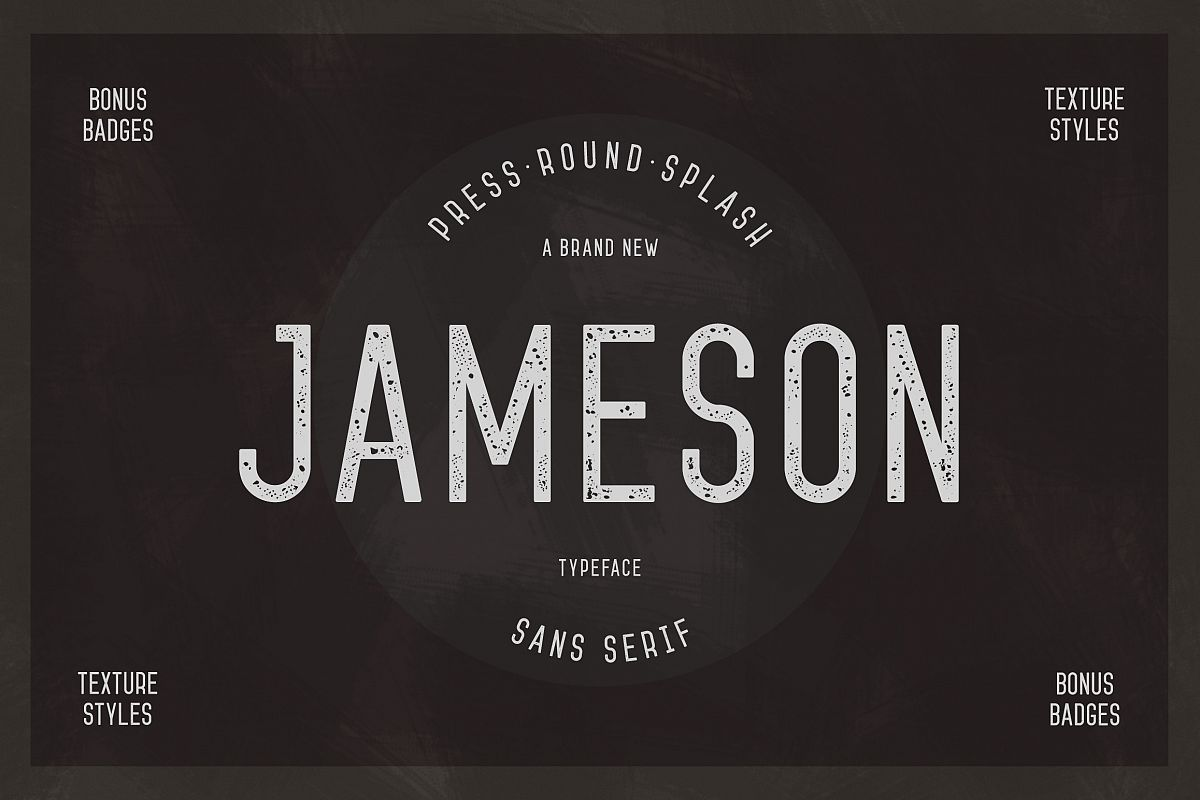 Jameson Sans-Serif example image 1