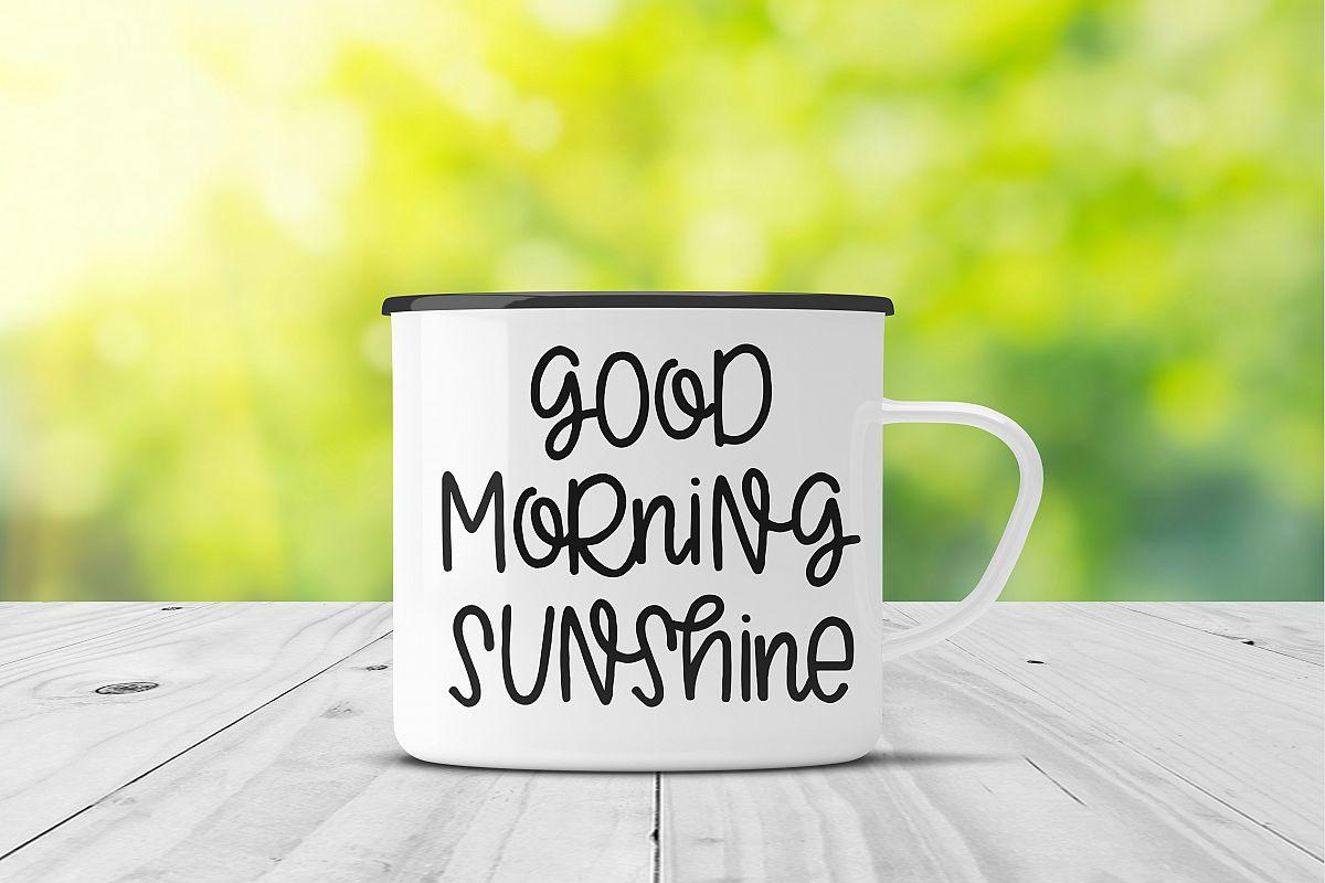 Good Morning Sunshine SVG example image 1