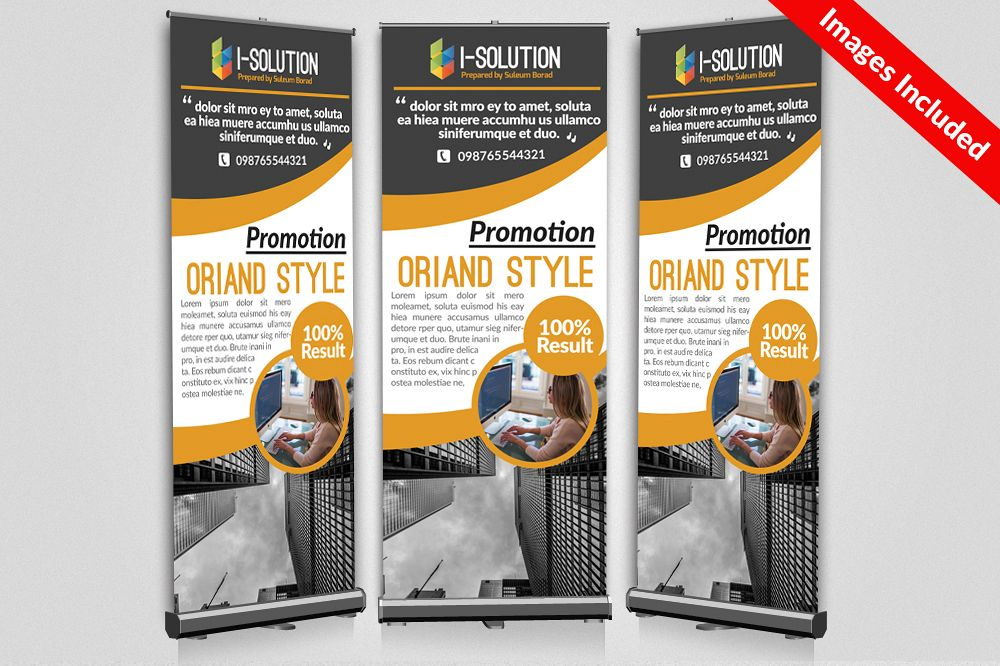 Business Association Roll Up Banners example image 1