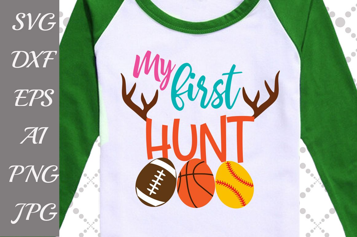 My First Hunt Svg example image 1