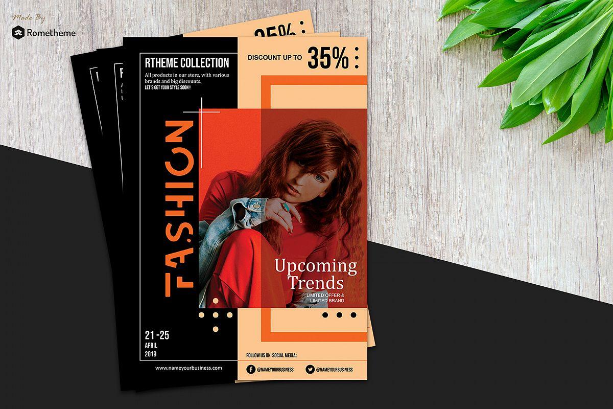 Fashion Modern Flyer vol. 08 example image 1