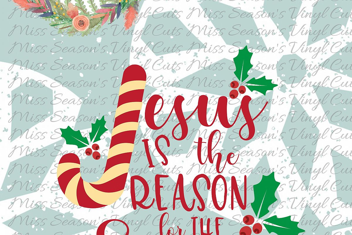 Jesus is the Reason Svg example image 1