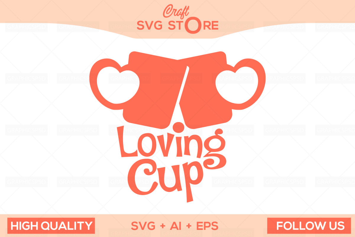 Love Cups - Craft SVG Store  example image 1