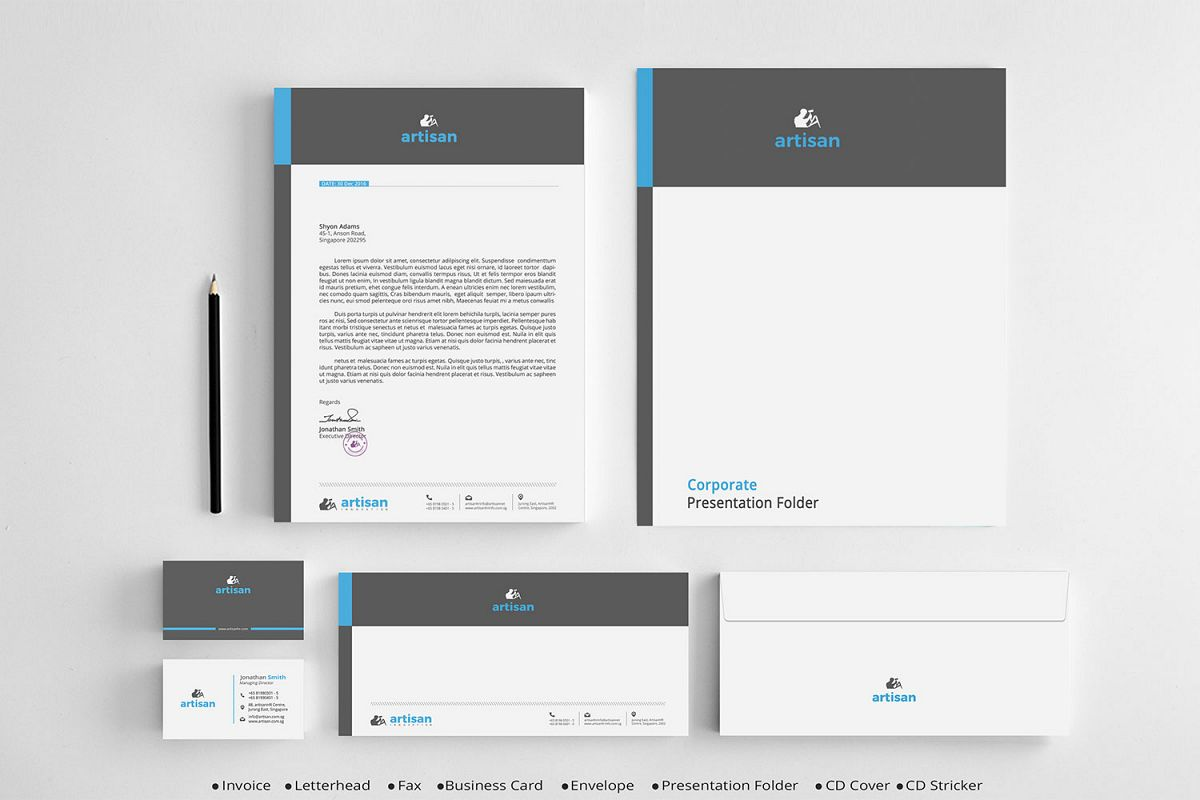 Corporate Identity example image 1