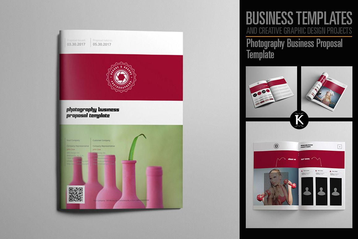 Photography business proposal template photography business proposal template example image 1 cheaphphosting Gallery
