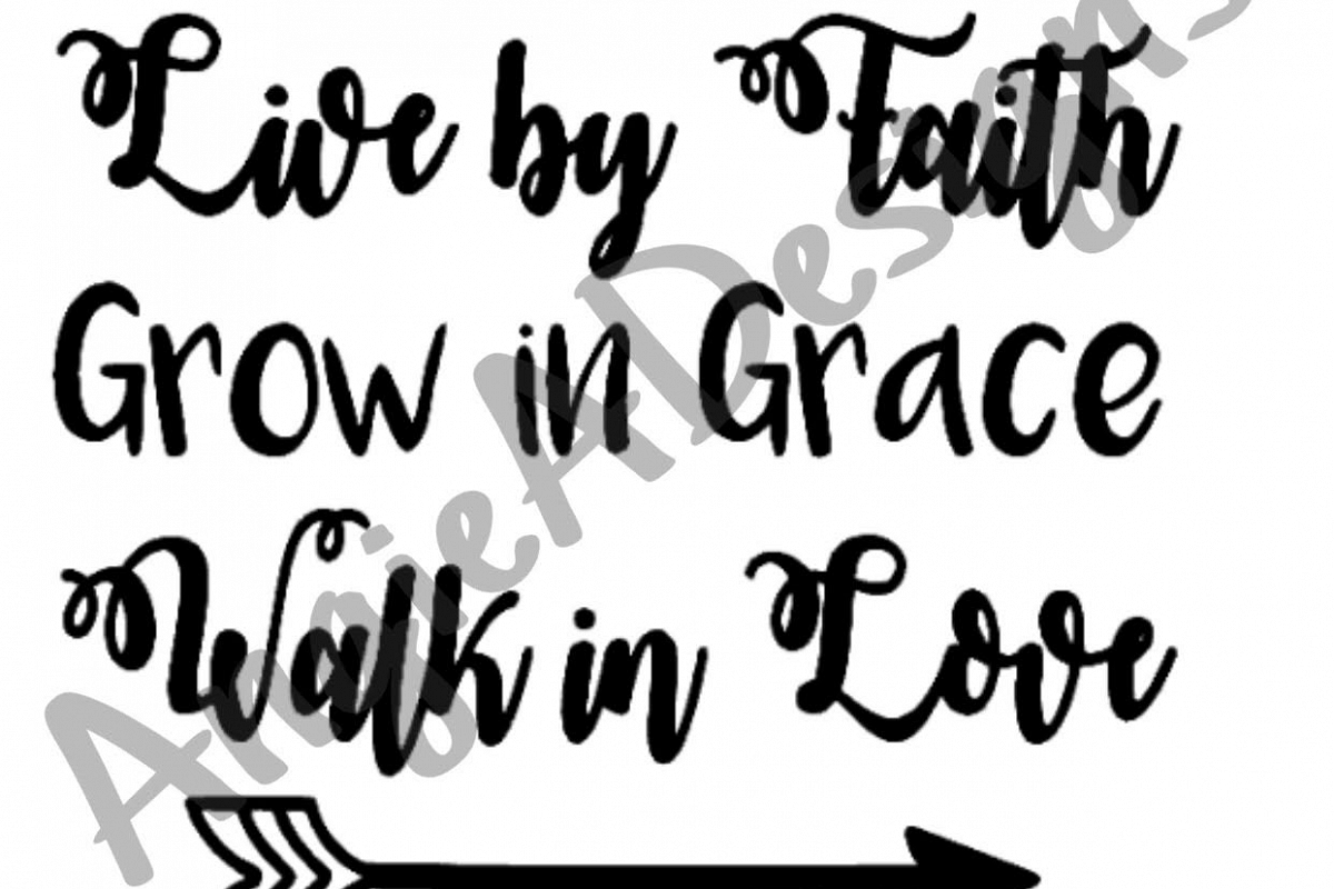 Live By Faith example image 1