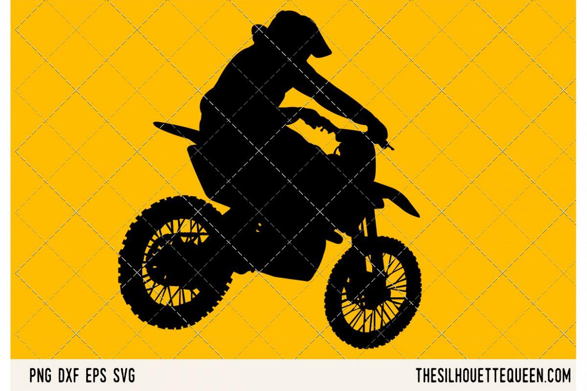 Pitbiking SVG example image 1