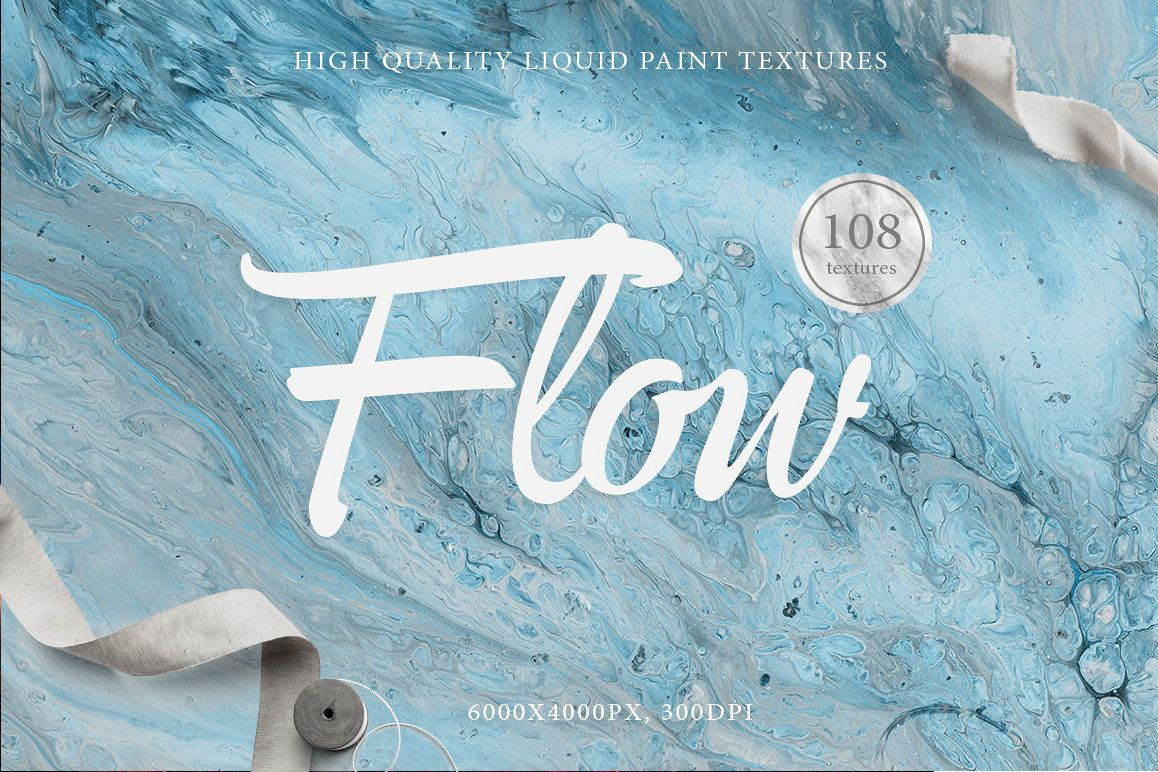 108 Flow Liquid Textures example image 1