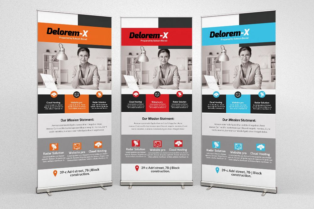 Business Analyst Roll Up Banners example image 1