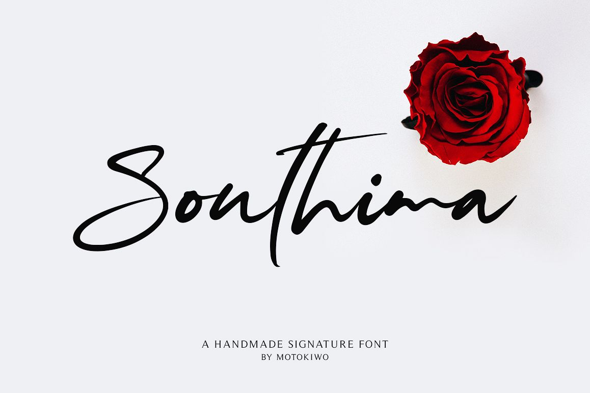 Southima - Modern Script example image 1