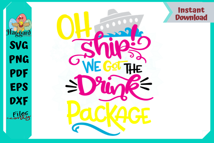 Oh Ship We got the Drink Package example image 1