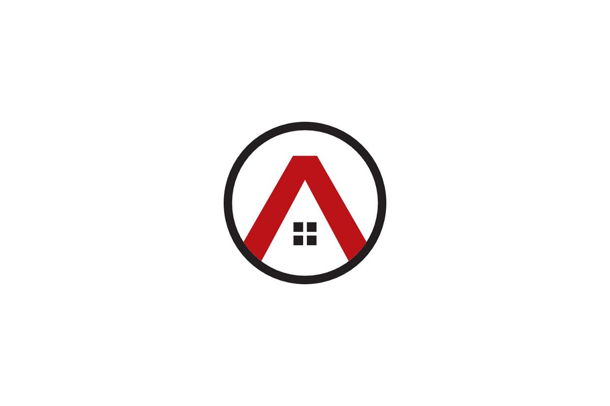 a letter house logo example image 1