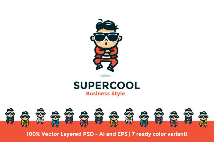 Supercool Business Style Logo example image 1