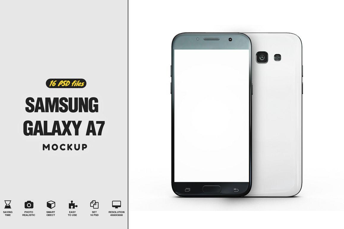 Samsung Galaxy A7 Mockup example image 1