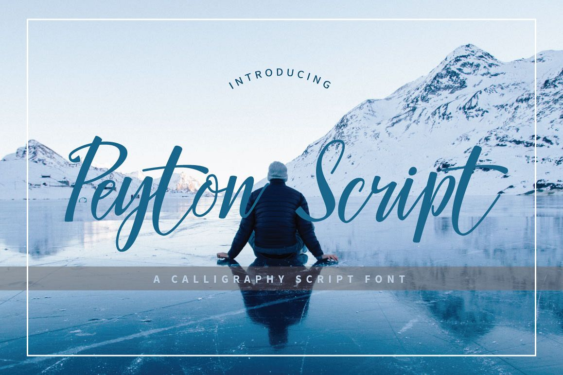 Peyton Script Typeface example image 1