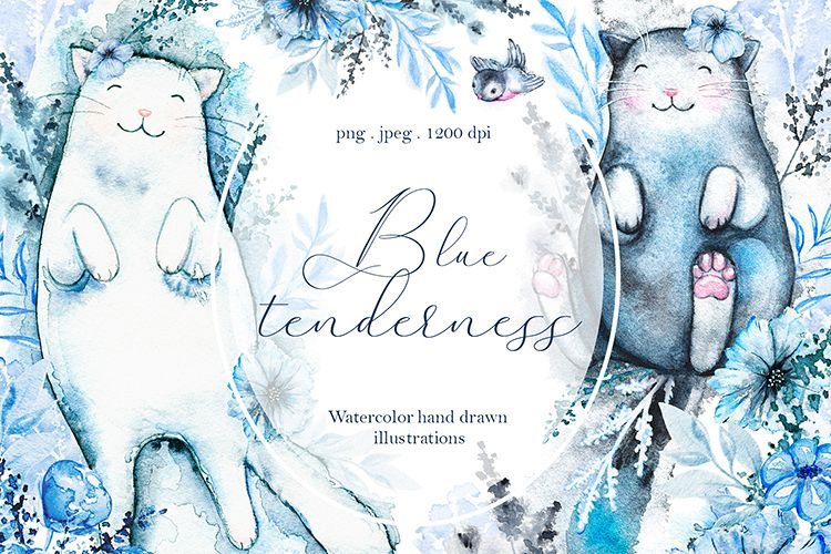 Blue tenderness example image 1