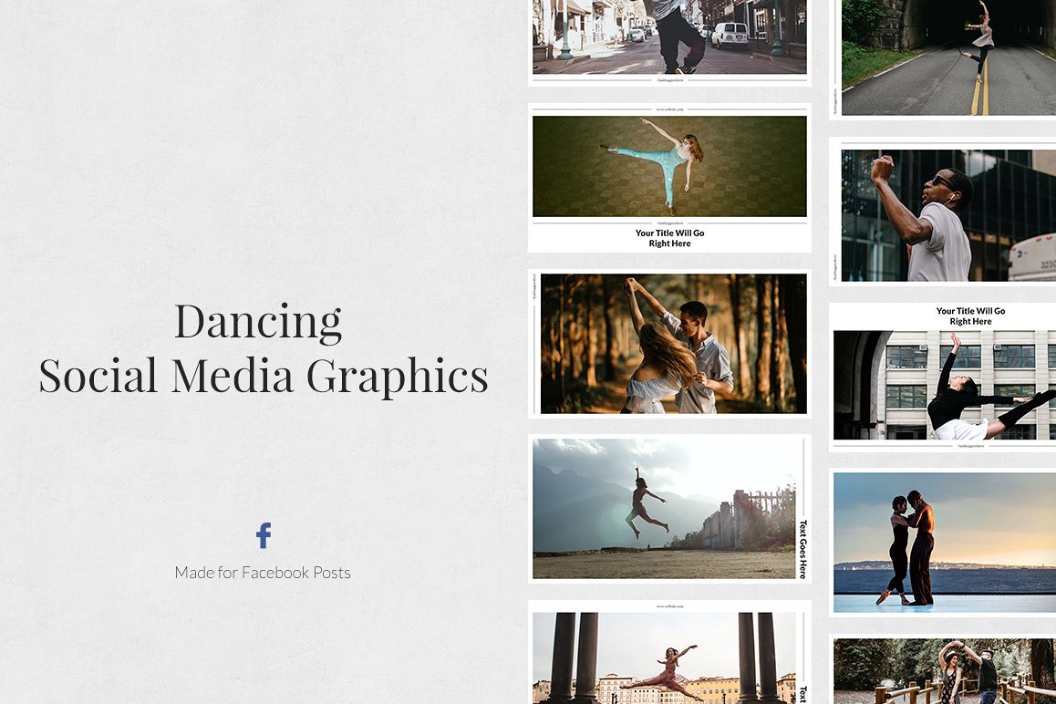 Dancing Facebook Posts example image 1